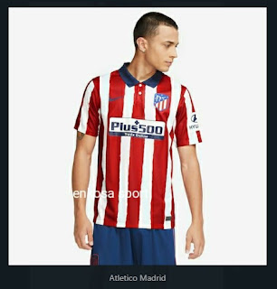 Jersey bola murah Atletico Madrid