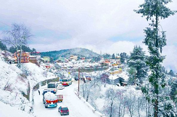 List of Best 7 Tourist Places in Himachal Pradesh on Snowfall Season