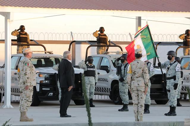 Guardia Nacional contará con las mismas prestaciones que Marina y Sedena: AMLO