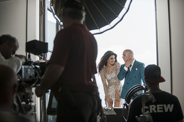 Hot Priyanka Chopra shooting with Pitbull new music video Exotic HD images