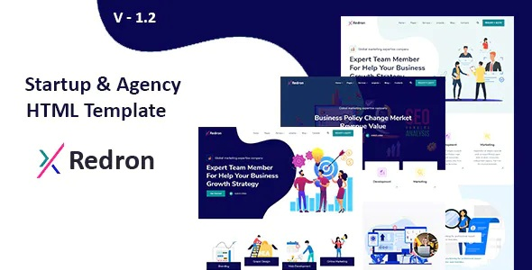 Best Startup & Agency HTML Template