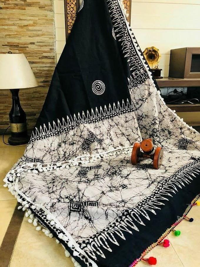 Affordable Cotton Printed Regular Sarees