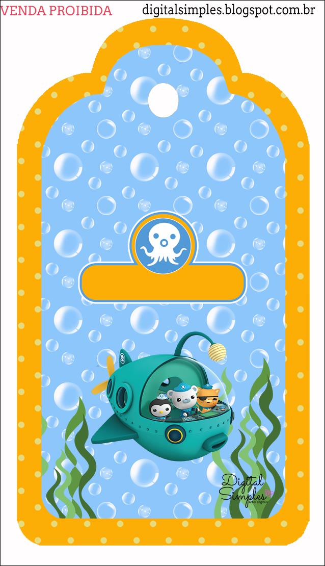 octonauts free party printables and