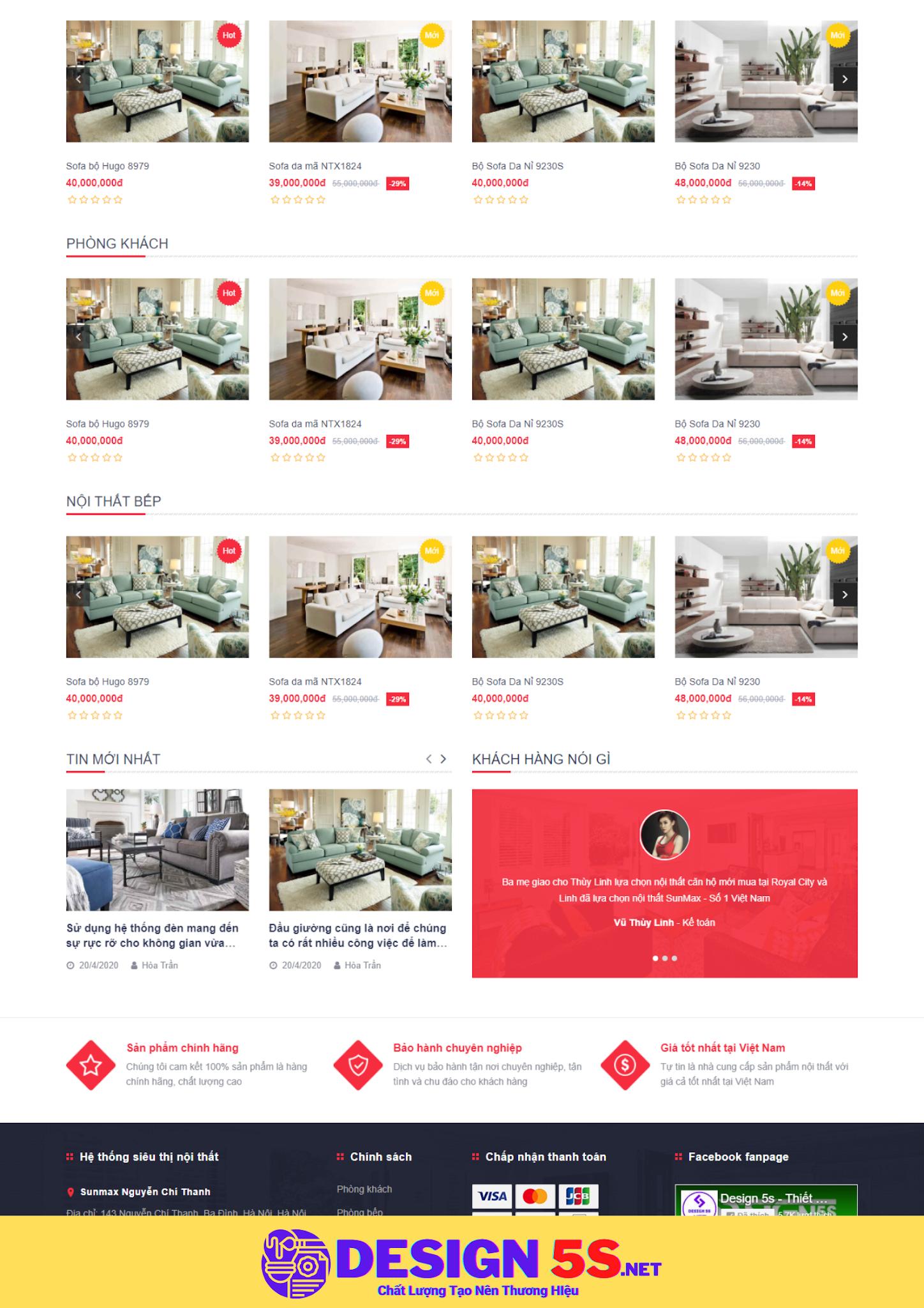 Theme blogspot bán hàng nội thất, VSM36 - Ảnh 2