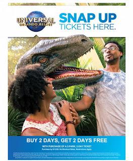 Universal Orlando Florida Free Days Theme Park Travel Vacation
