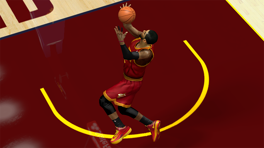 Nike HyperRev Kyrie's Signature Shoes NBA 2K14