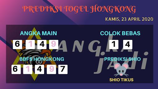 Prediksi Togel Hongkong Kamis 22 April 2020 - Prediksi Angka HK