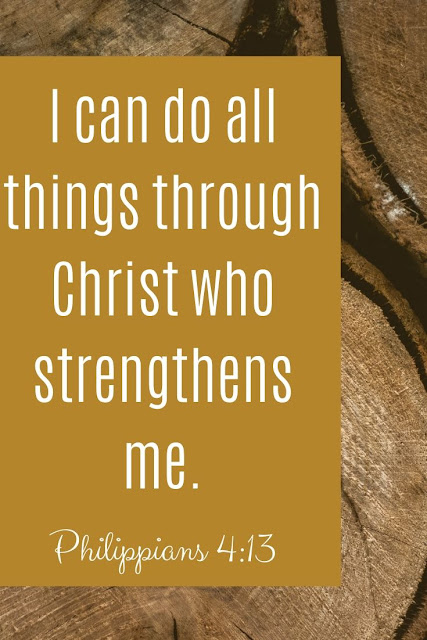 Bible Verse | I Can Do Everything Through Him Who Gives Me Strength