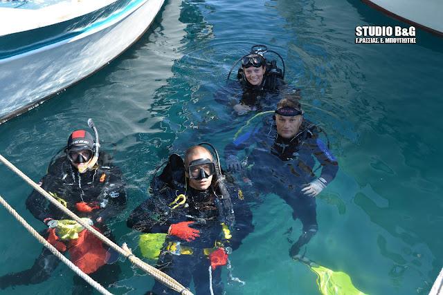 «PROJECT TOLO»: Σπουδαία εθελοντική δράση για τον καθαρισμό στο λιμάνι του Τολού