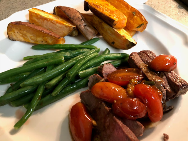 An Honest Hello Fresh Review - Steak, potatoes and green beans