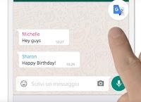 Traduzione dei messaggi su Whatsapp e Messenger in italiano da altre lingue
