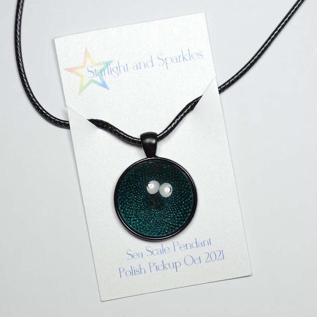 color shifting necklace pendant