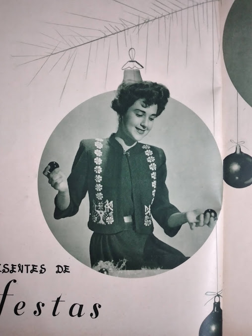 Brasil: Bolero natalino. Revista Tricô e Crochê, dez/1952
