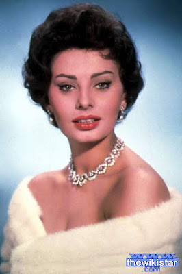 The life story of Sophia Loren, Italian actress, was born on September 20, 1934.