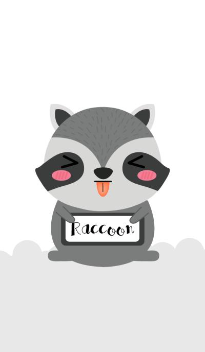Love Cute Raccoon Theme
