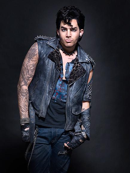 "OFFICIAL PHOTO! Adam Lambert ""Eddie"" In Fox TV 'Rocky ..."