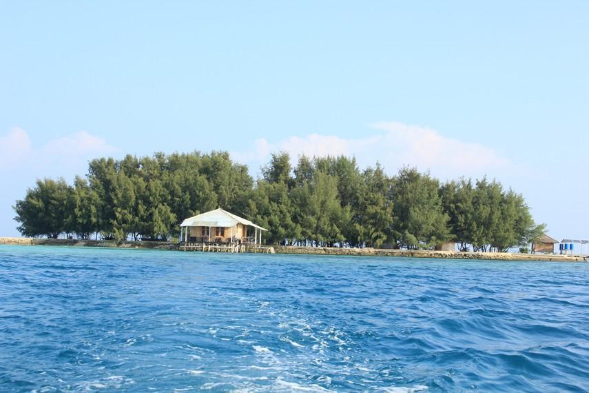 Wisata Pulau Gusung Pandan di Kepulauan Seribu Jakarta