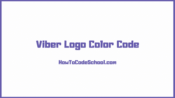 Viber Logo Color Code