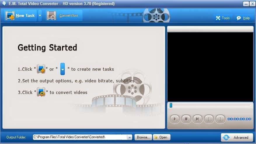Kumpulan Freeware: Total Video Converter