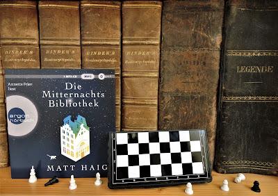 Hörbuchrezension: Die Mitternachtsbibliothek von Matt Haig