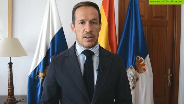 Declaraciones del presidente de la Fecai tras el encuentro con el Gobierno de Canarias y la Fecam