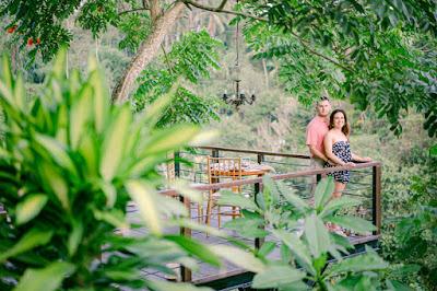Honeymoon photo session in Ubud