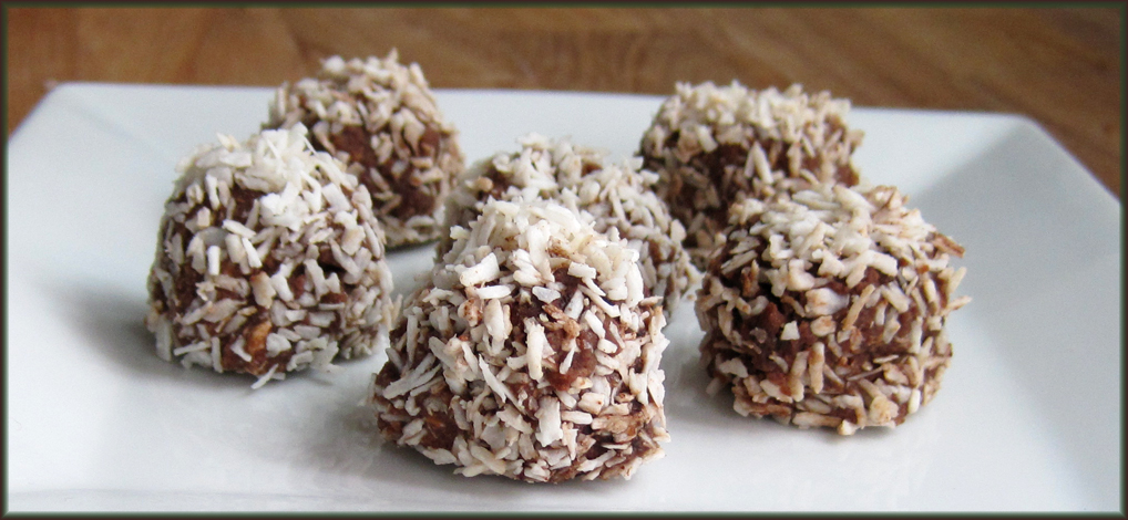 Toblerone Snowballs or truffles