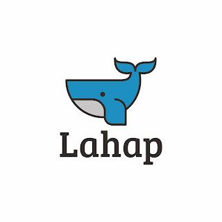 Desain Logo Lahap