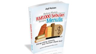 Rahsia Mudah RM1,000 Sebulan Dengan Menulis Dibongkarkan