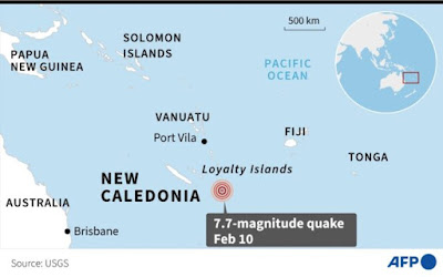 New Zealand issues tsunami activity warning after 7.7 magnitude earthquake