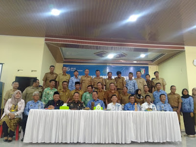 BPJS Ketenagakerjaan Sosialisasi ke 40 Aparat Pekon di Pringsewu