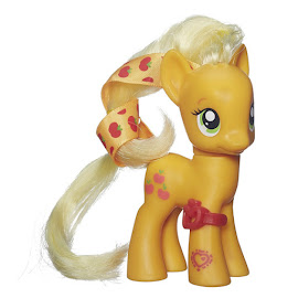 MLP Cutie Mark Magic Ribbon Hair Single Applejack Brushable Figure