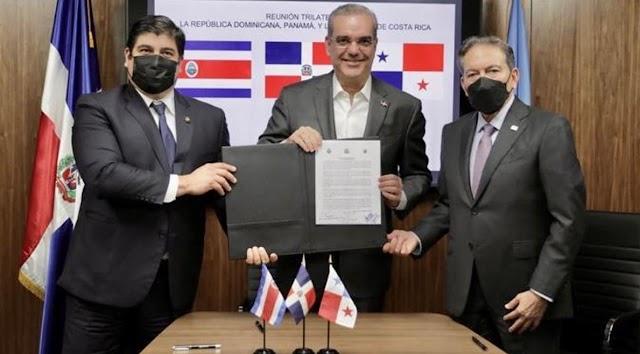 RD, Costa Rica, Panamá forman alianza y piden solución para Haití
