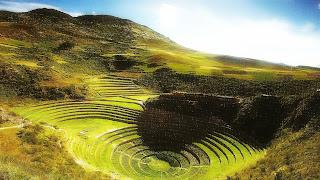 Terraços de Moray, no Vale Sagrado