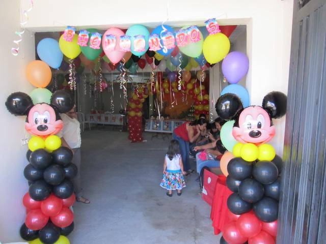 Decoracion mickey mouse fiestas infantiles y - Globos fiestas infantiles ...