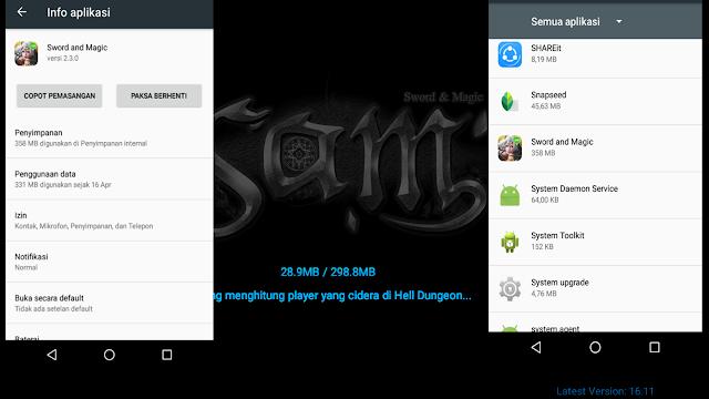 Sword And Magic Game MMORPG Android Ukuran Kecil Grafis Bagus Dan Open World!