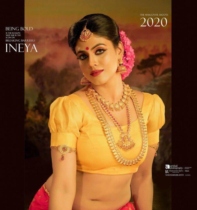 Ineya Hot Traditional Photos