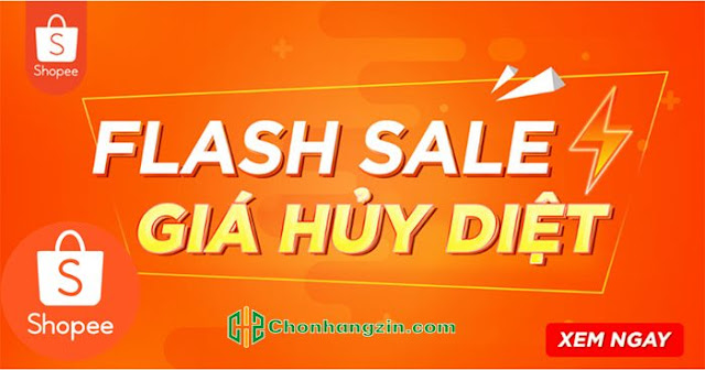 mua hàng Flash Sale trên Shopee