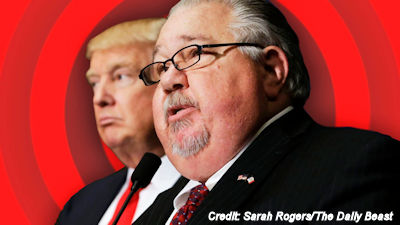 Sam Clovis and Donald Trump