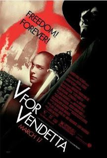 V for Vendetta (2005) Hindi Dual Audio Movie 180Mb hevc BRRip