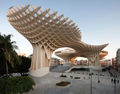 Arsitektur Metropol Parasol, Sevilla