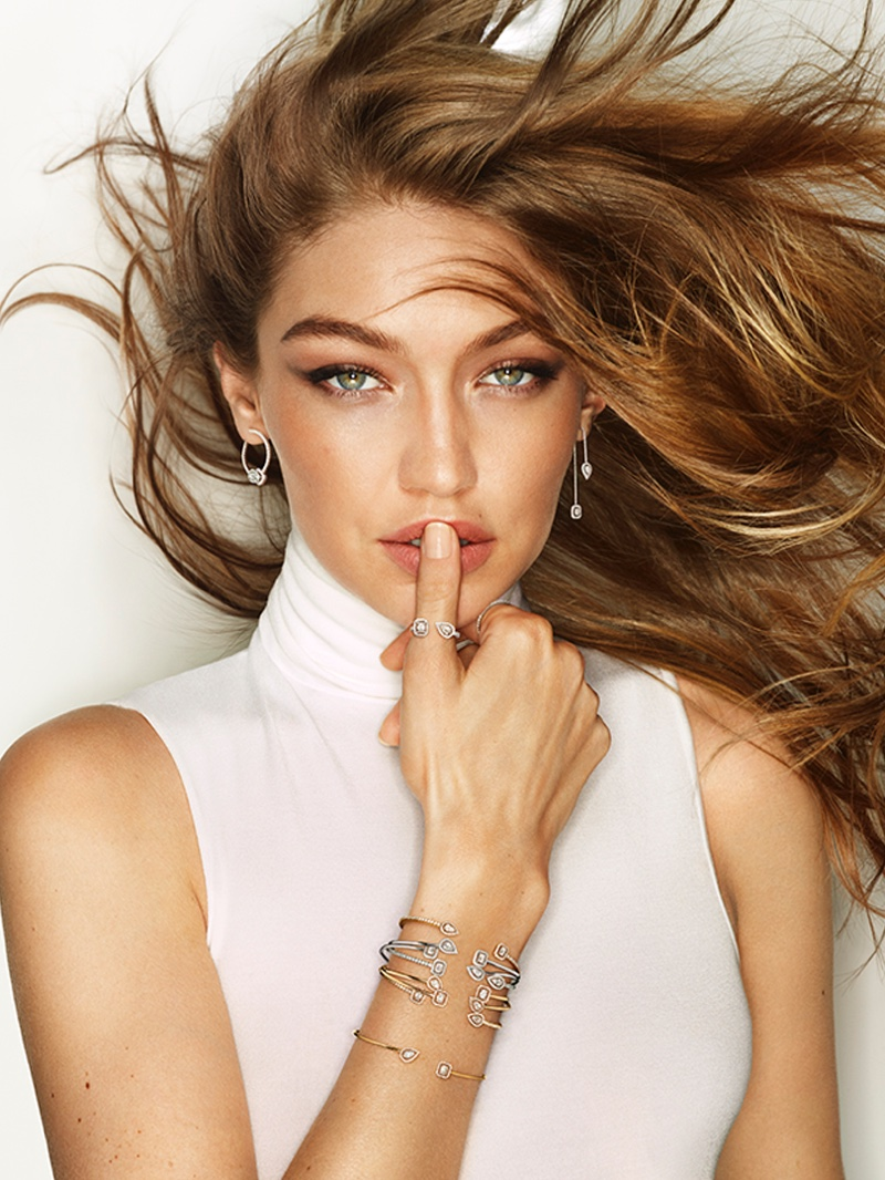 Supermodel Gigi Hadid fronts Messika 2019 jewelry campaign