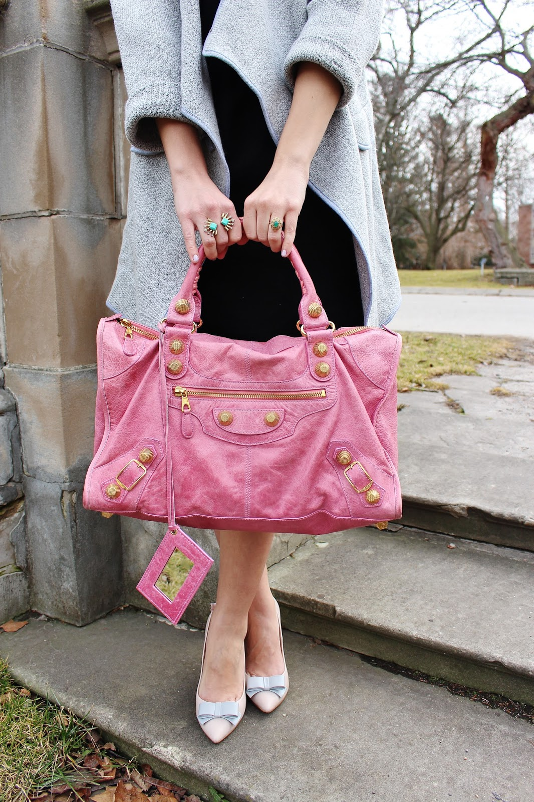 bijuleni-balenciaga town giant handbag