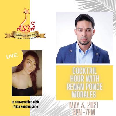 Asia Leaders Awards, Cocktail Hour, Frida Nepomuceno, Renan Ponce Morales, Bestfriend ng Bayan Foundation