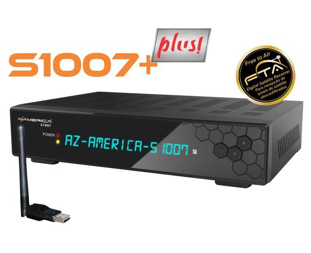 AZAMERICA S1007 + PLUS NOVA ATUALIZAÇÃO V1.09.21677 - 19/04/2020