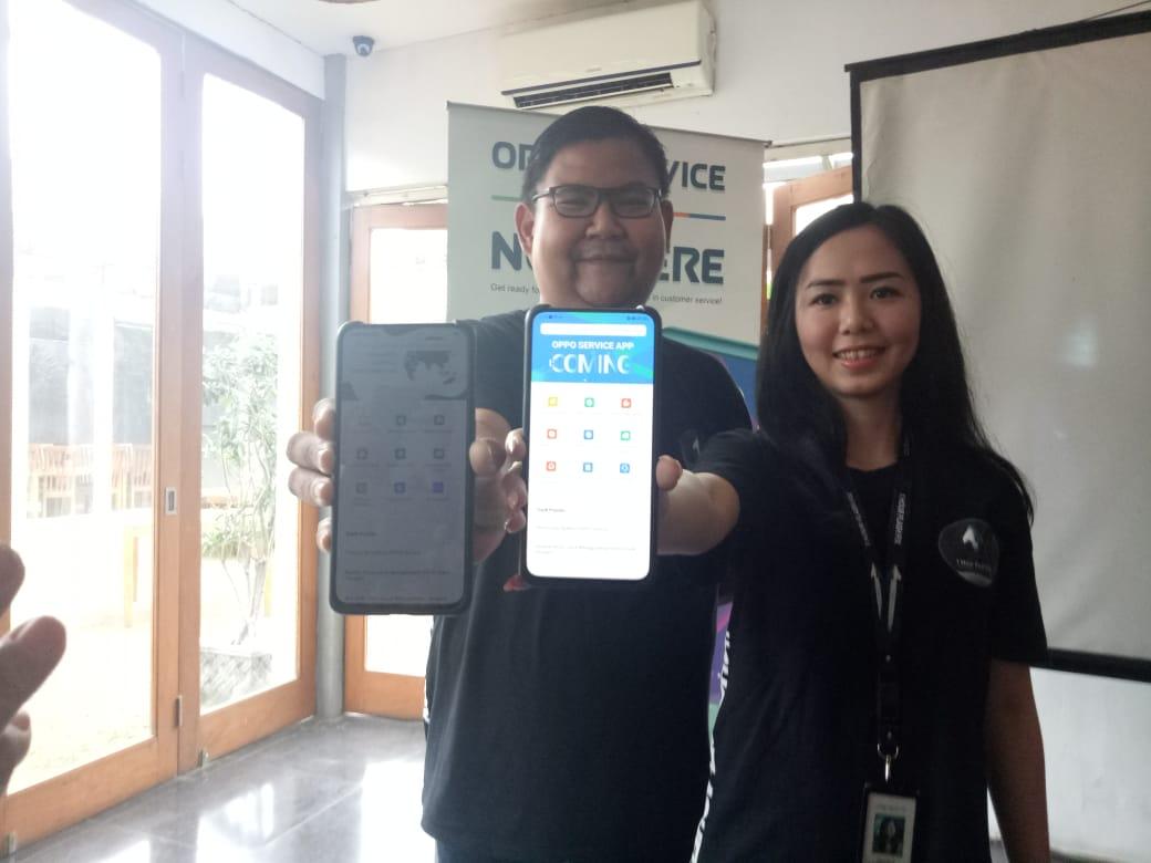 Peluncuran Aplikasi Oppo Service Dan Layanan 1 Hour Flash Fix Di Bandung