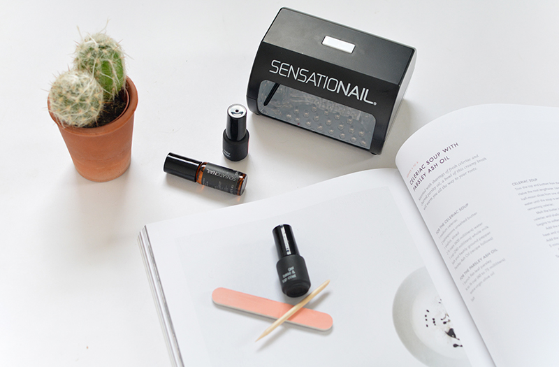 sensationail gel manicure kit