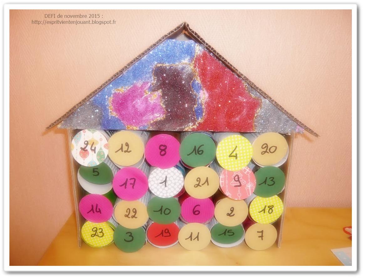 L 39 esprit vient en jouant activit enfants 40 id es de calendriers de l 39 avent avec ou sans - Calendrier de l avent avec rouleau papier toilette ...