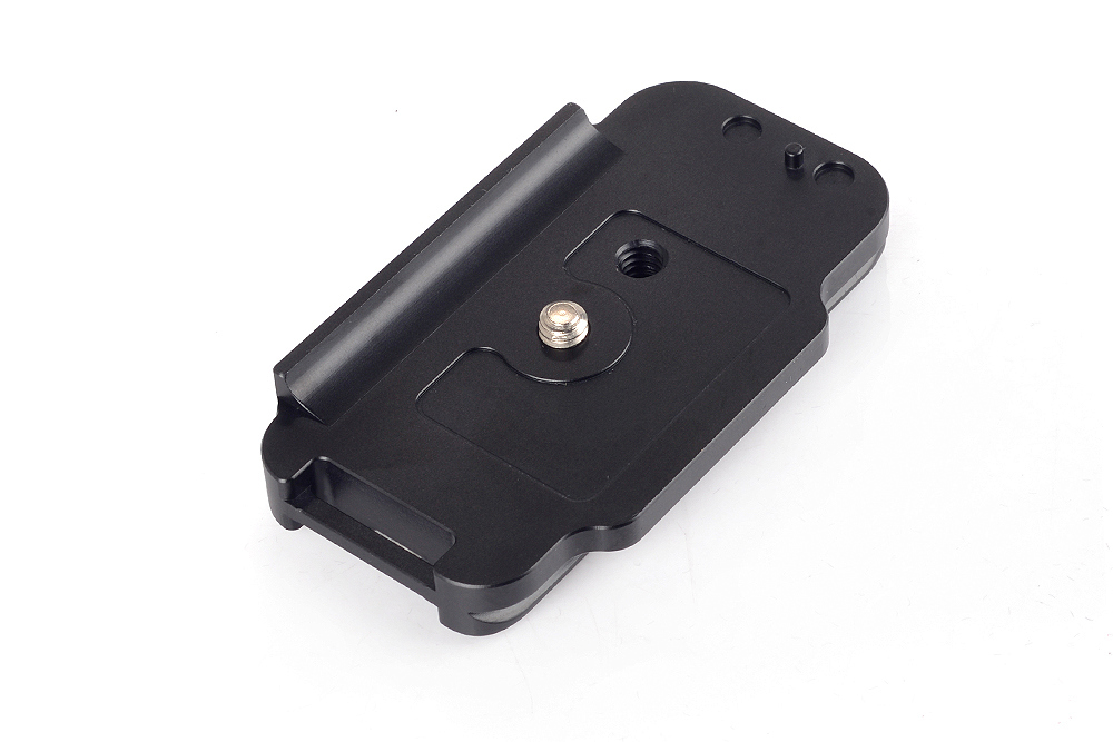 Sunwayfoto PC-7DIIR QR plate top front view