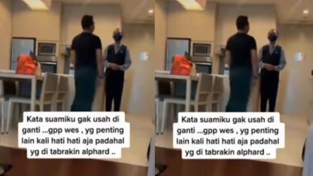 Viral Alphard Penyok, Pegawai Hotel Minta Maaf